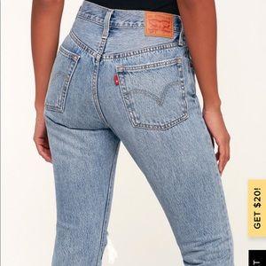 Levi's 501s Skinny Jeans